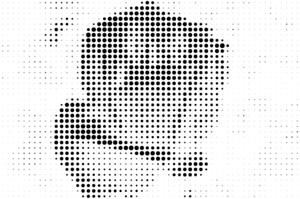 Dot pattern effect from photo online - IMG online