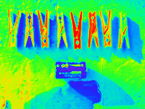 Thermal imager effect from photo 1