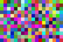 The unique pixel background in PNG image format